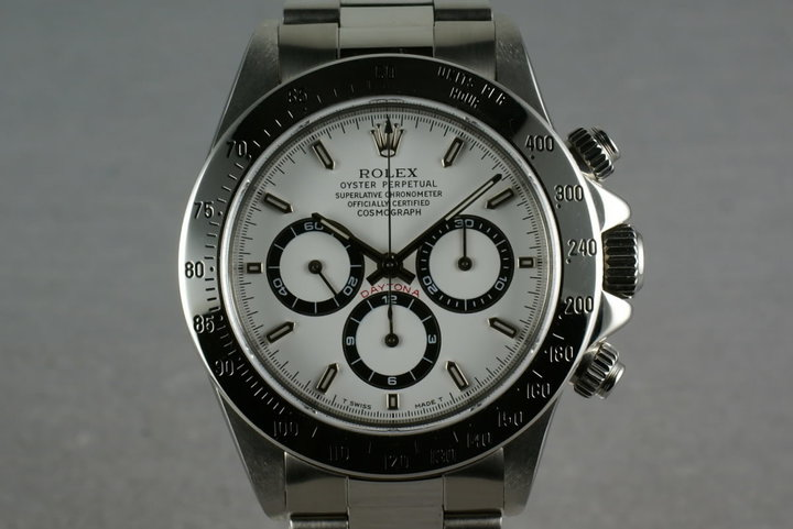 Rolex SS Zenith Daytona 16520 Box and Papers and RSC service papers photo