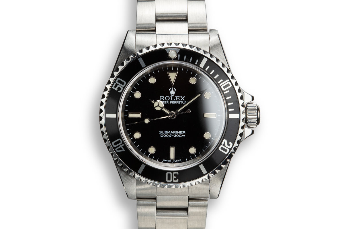 2000 Rolex Submariner 14060 photo, #0