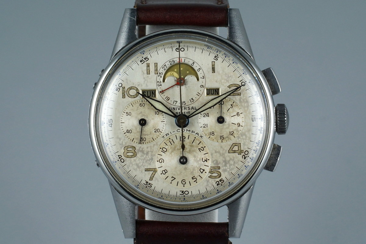 1940's Universal Geneve Tri-Compax 22258 photo, #0