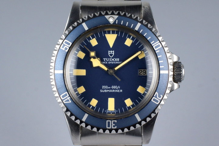 1979 Tudor Blue Submariner 94110 Snowflake photo