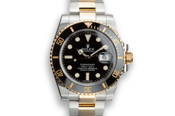 2014 Rolex Two-Tone Submariner 116613LN with Box and Papers photo