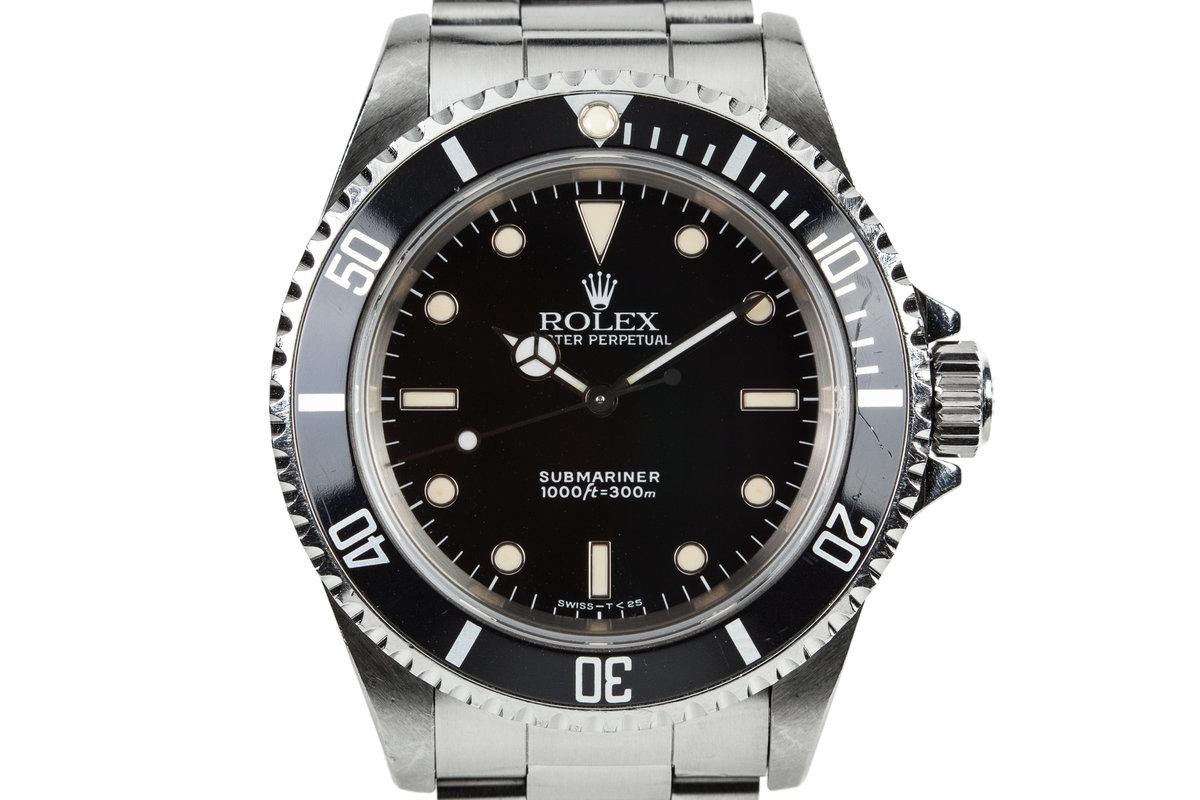 1991 Rolex Submariner 14060 photo, #0