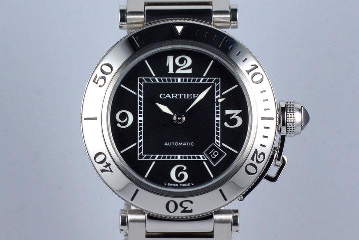 Cartier Pasha Sea Timer 2790 Black Dial photo