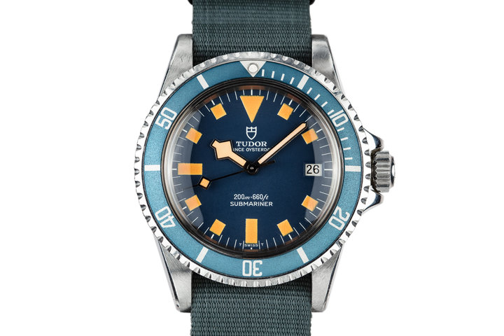 1978 Tudor Snowflake Submariner 94110 Blue Dial photo