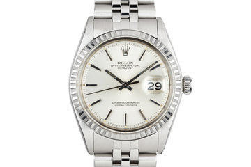1968 Rolex DateJust 1603 Silver dial photo