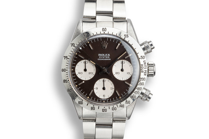 1971 Rolex Daytona 6265 with Dark Chocolate Tropical Dial photo