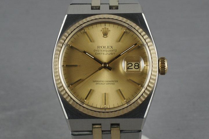 Rolex 2 Tone Oysterquartz 17013 photo