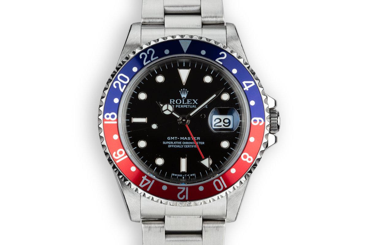 """1995 Rolex GMT-Master 16700 """"Pepsi"""" photo, #0"""