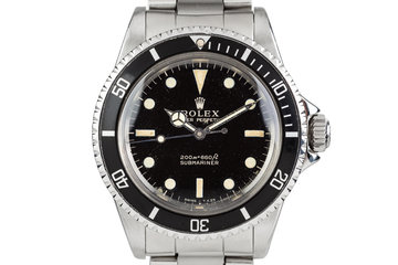 1965 Rolex Submariner 5513 Gilt Dial photo