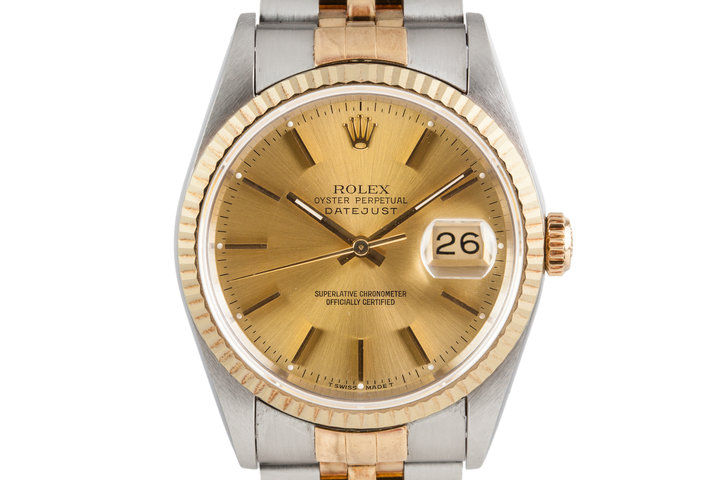 1995 Two-Tone Rolex Datejust 16233 photo