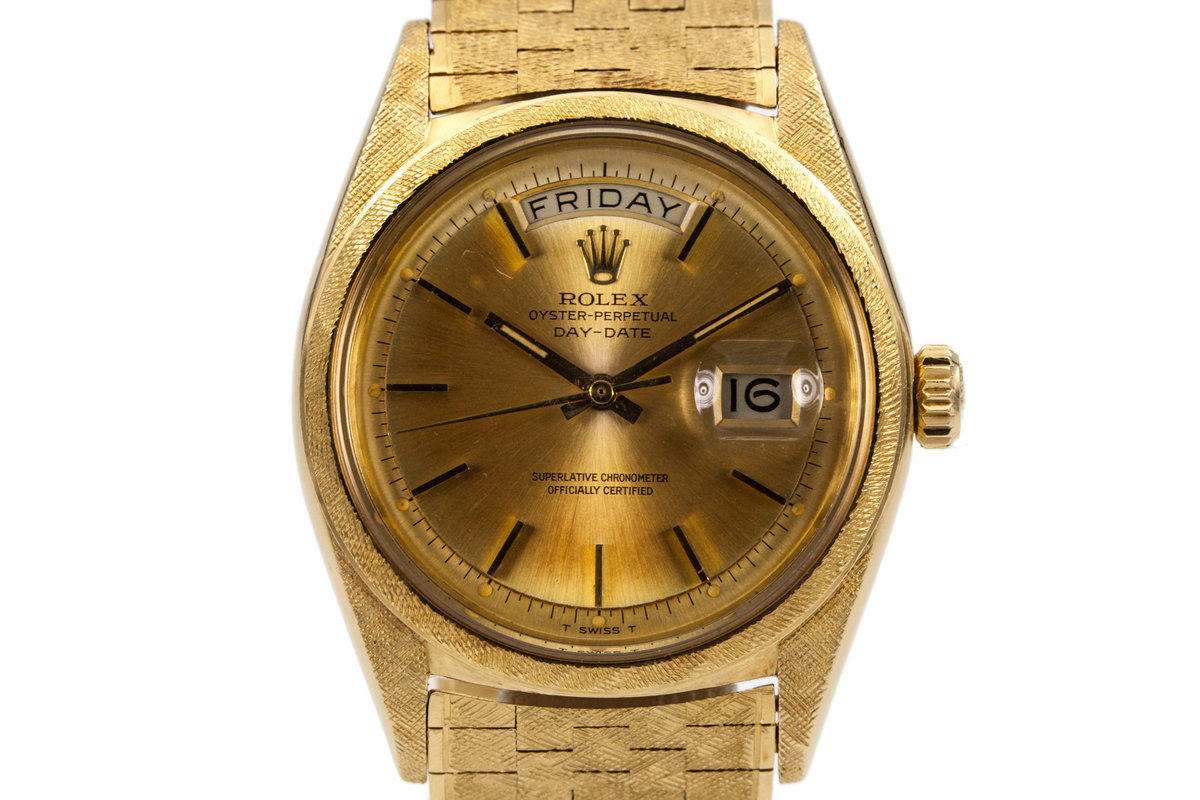 1966 Rolex YG Day-Date 1806 with Morellis Finish photo, #0