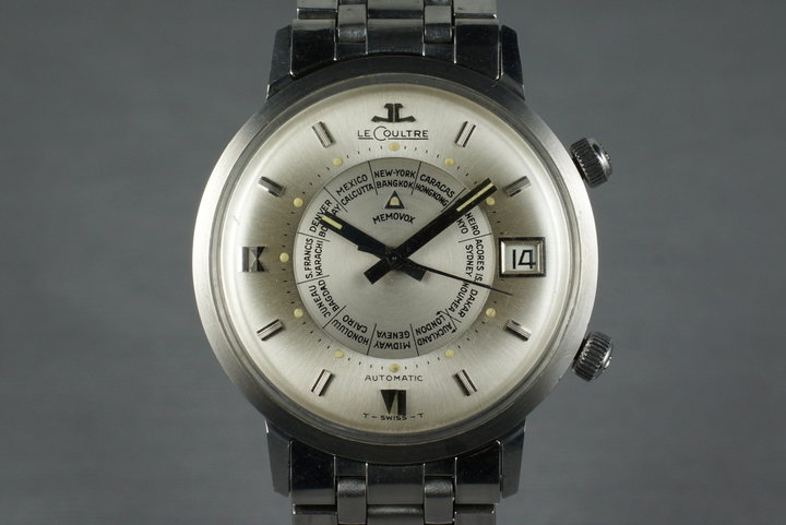 Vintage Jaeger-LeCoultre Memovox World Time photo