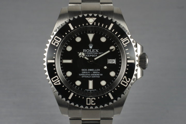 2010 Rolex Deep Sea Dweller 116660 with Box and Papers photo