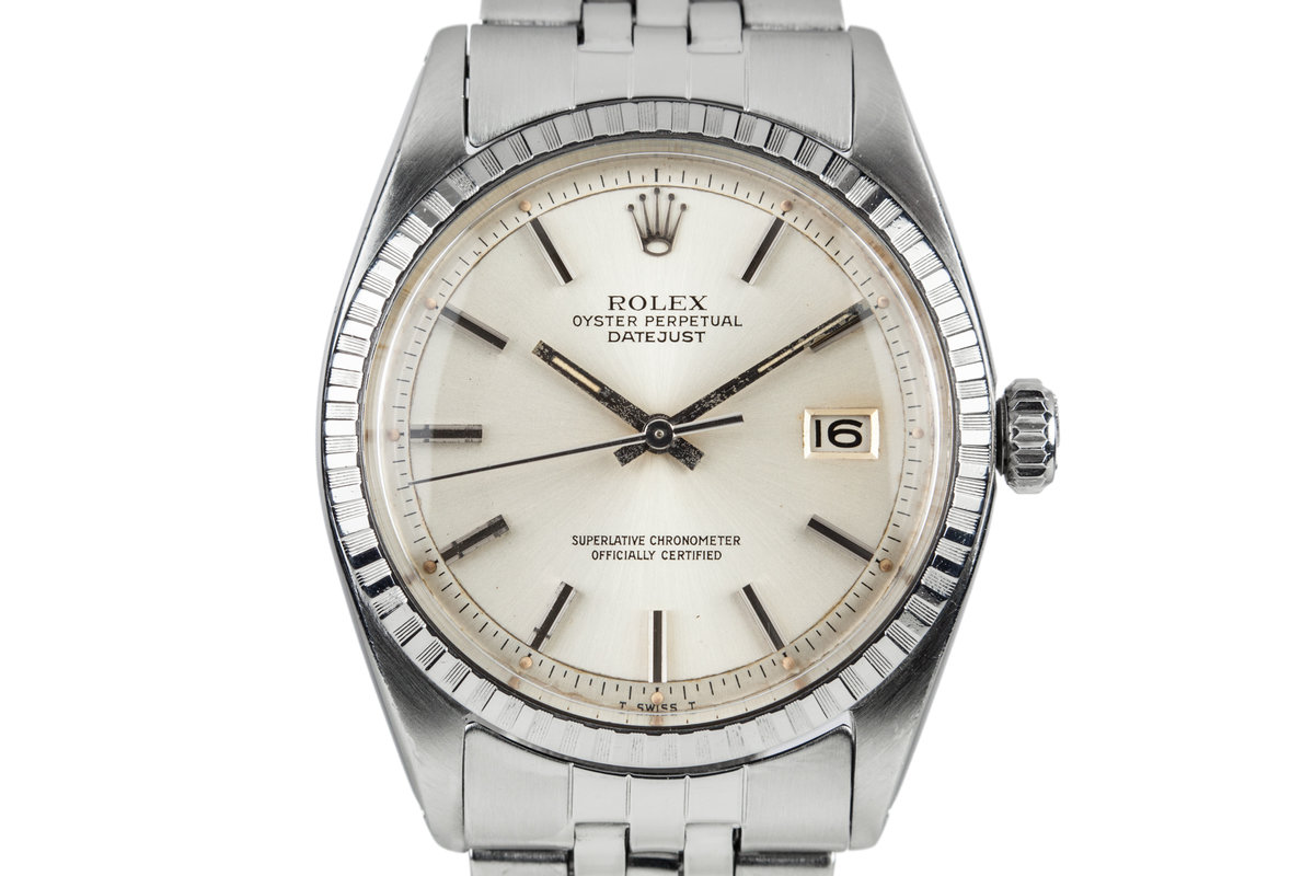 1981 Rolex DateJust 1603 Silver Dial photo, #0