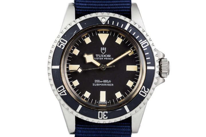 1980 Tudor Submariner Snowflake 94010 photo