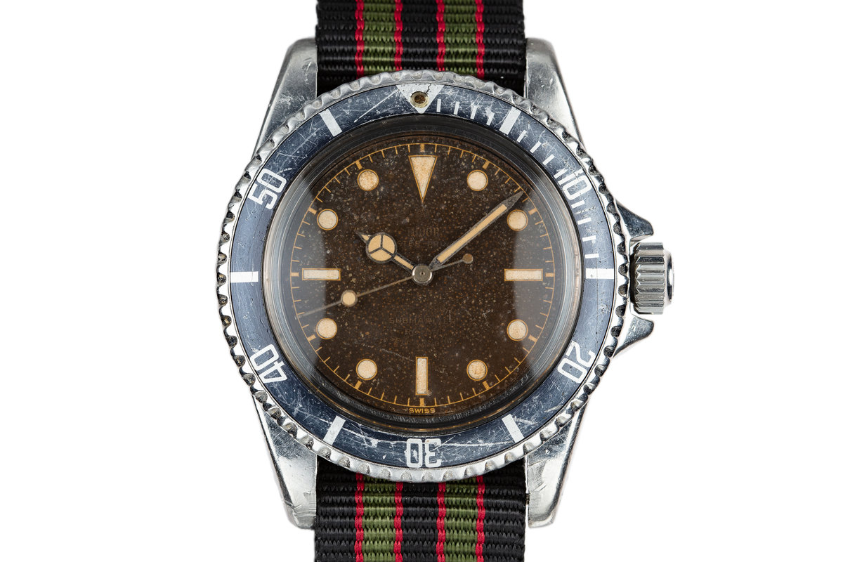 1962 Tudor Submariner 7928 with Tropical Gilt Dial photo, #0