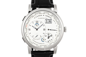 2017 A.Lange & Söhne Lange 1 Time Zone 116.039G with Box and Papers photo