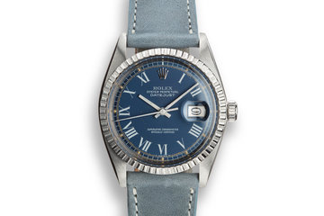 """1978 Rolex DateJust 1603 with """"Swirling Leaf"""" Dial photo"""