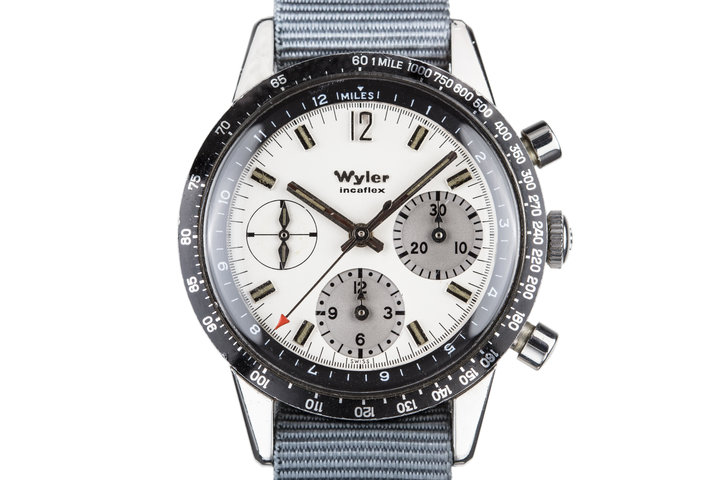 Wyler Incaflex 1502 White Dial photo