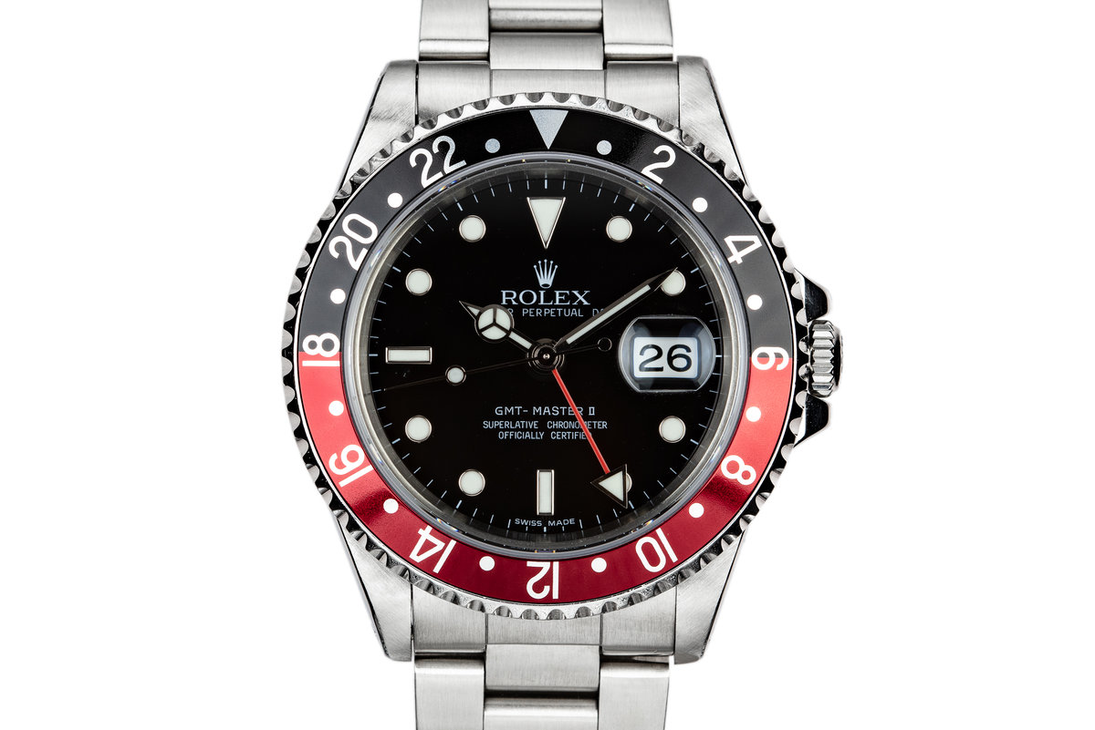"""1995 Rolex GMT-Master II 16710 """"Coke"""" with Box and Papers photo, #0"""