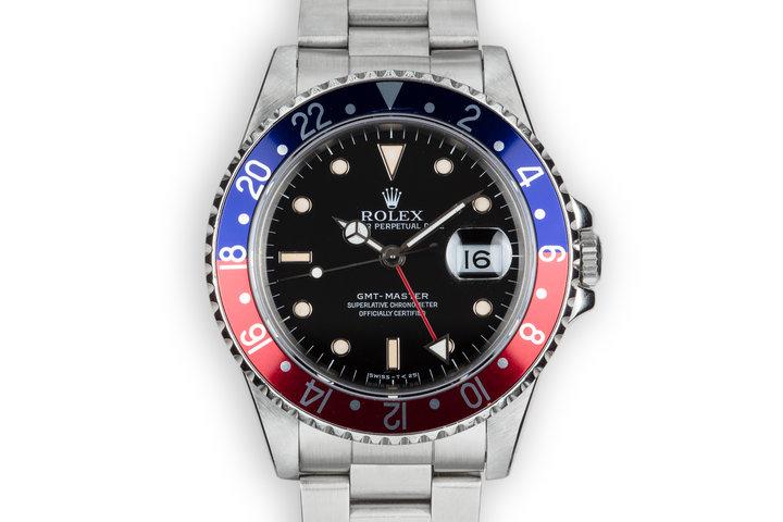 """1989 Rolex GMT-Master 16700 """"Pepsi"""" photo"""