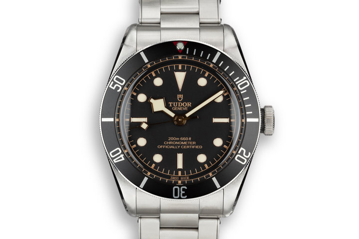2017 Tudor Heritage Black Bay 79230N with Box and Papers photo