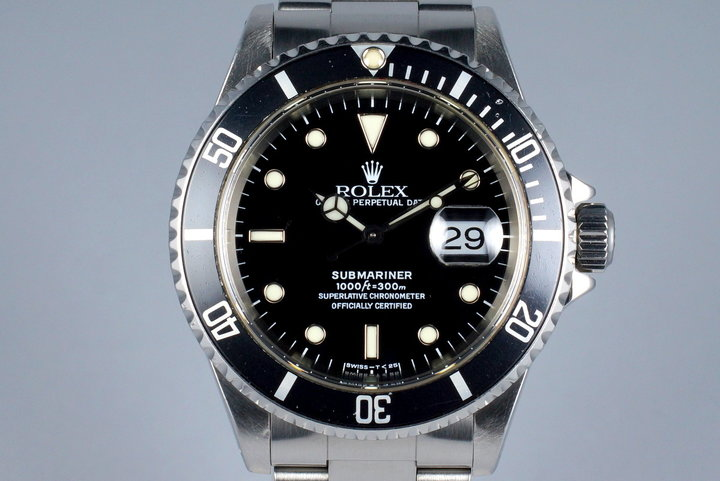 1997 Rolex Submariner 16610 with Box and Papers photo