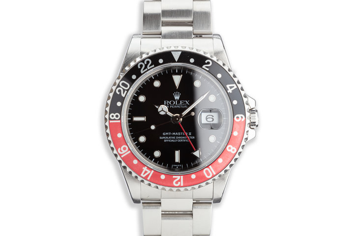 "1999 Rolex GMT-Master II 16710 ""Coke"" photo"