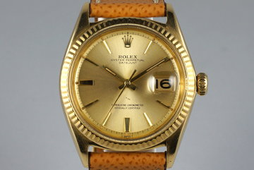 1964 Rolex YG Datejust 1601 photo