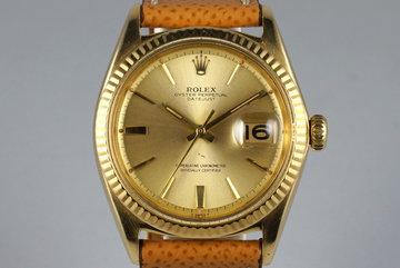 1964 Rolex YG Datejust 1601 photo