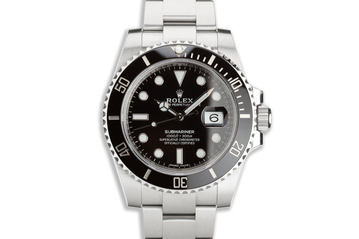 2019 Rolex Submariner 116610LN with Box & Card photo, #0