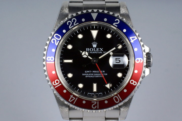 1991 Rolex GMT 16700 UNPOLISHED photo