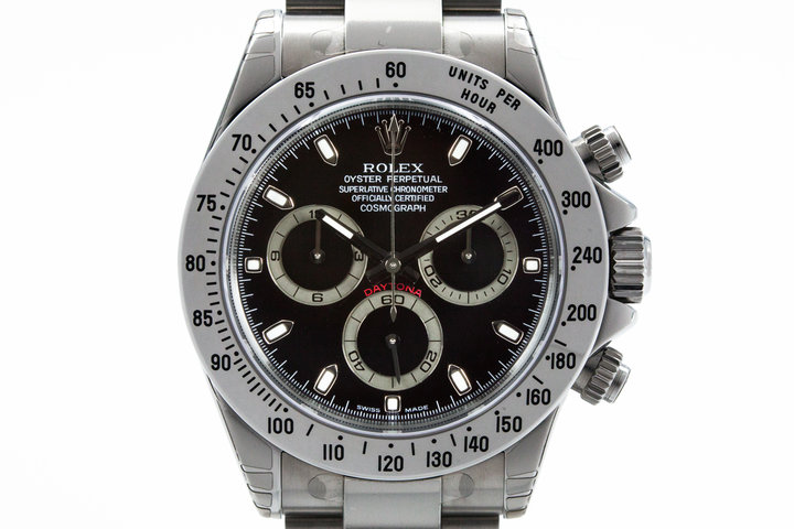 2003 Rolex Daytona 116520 with Box and Papers MINT photo