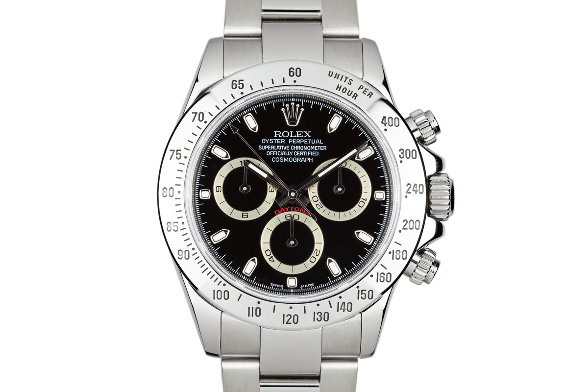 2007 Rolex Daytona 116520 Black Dial with Box and papers photo, #0