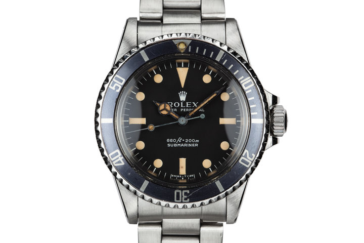 1977 Rolex Submariner 5513 Serif Dial photo