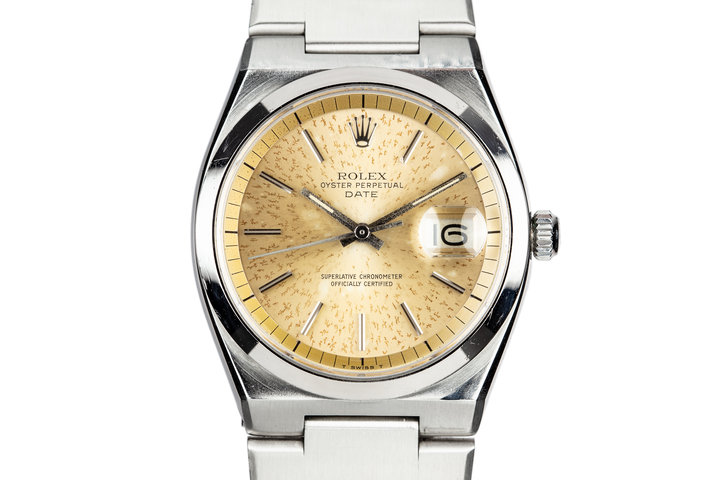 1974 Rolex OysterDate 1530 with Electric Cactus Dial photo