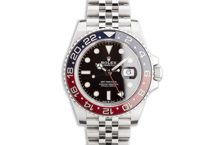 "2020 Rolex GMT-Master II 126710BLRO ""Pepsi"" with Box photo"