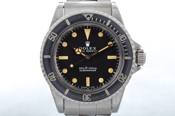 Vintage 1972 Rolex Submariner with Box and Papers photo