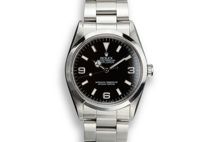 1991 Rolex Explorer 14270 photo