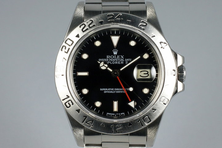 1984 Rolex Explorer II 16550 Black Dial photo