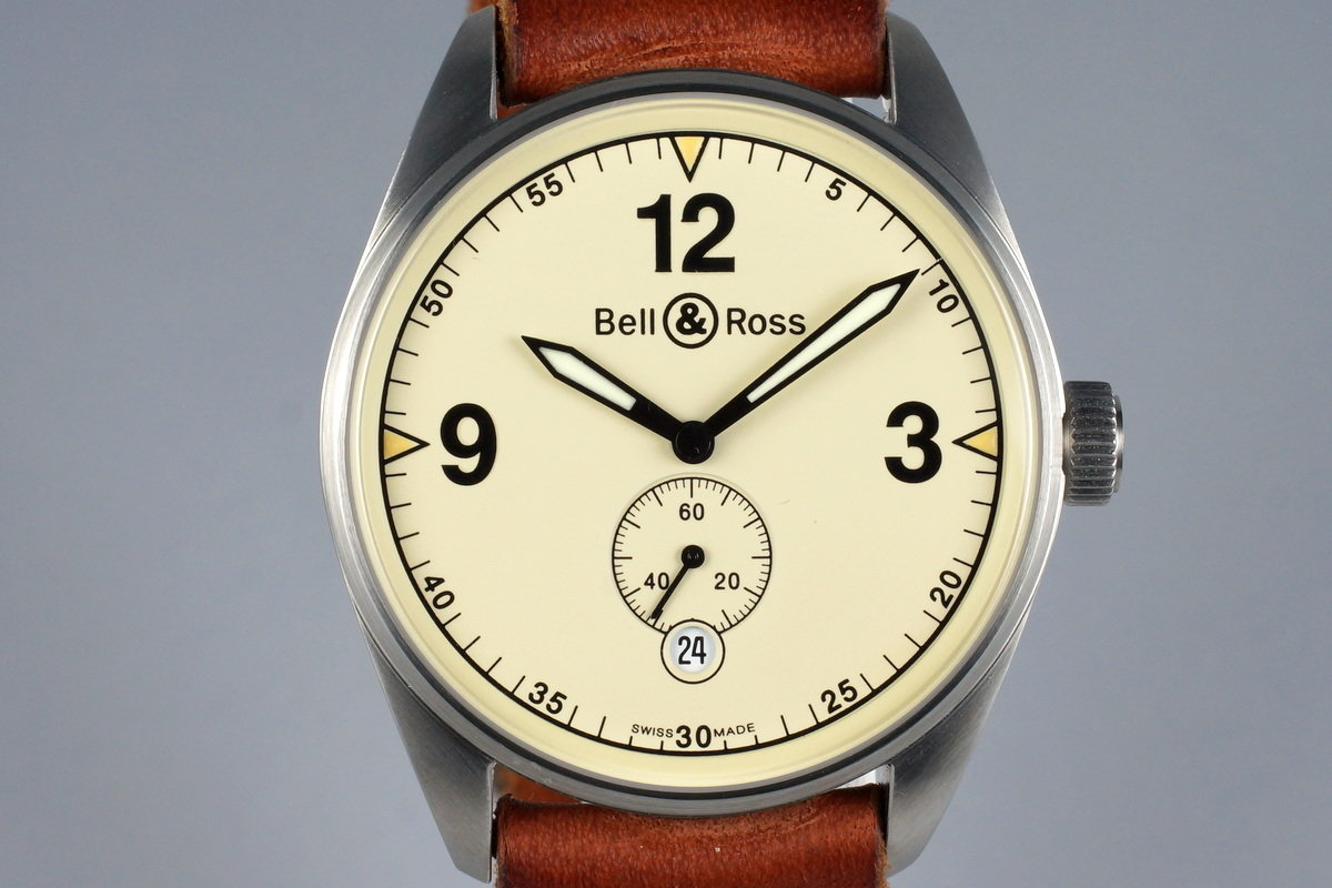 Bell & Ross Vintage 123 with Box and Service Papers photo, #0