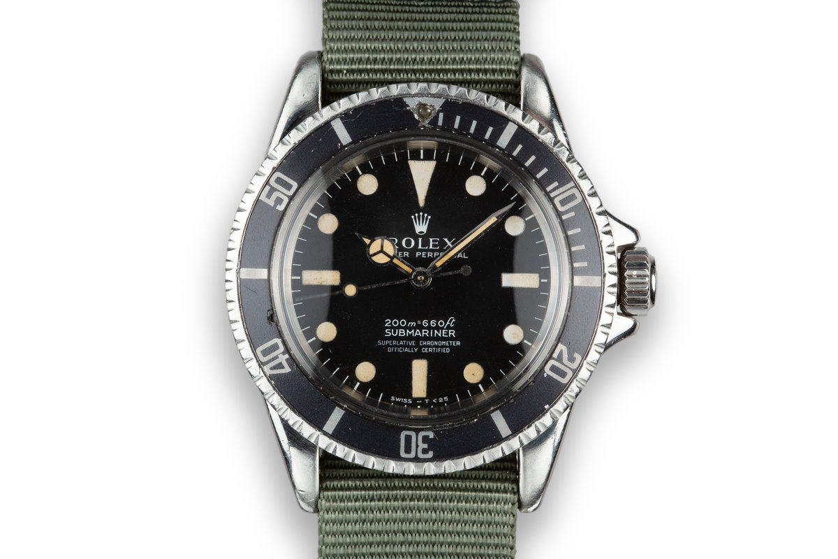 1967 Rolex Submariner 5512 with Meters First Dial photo, #0