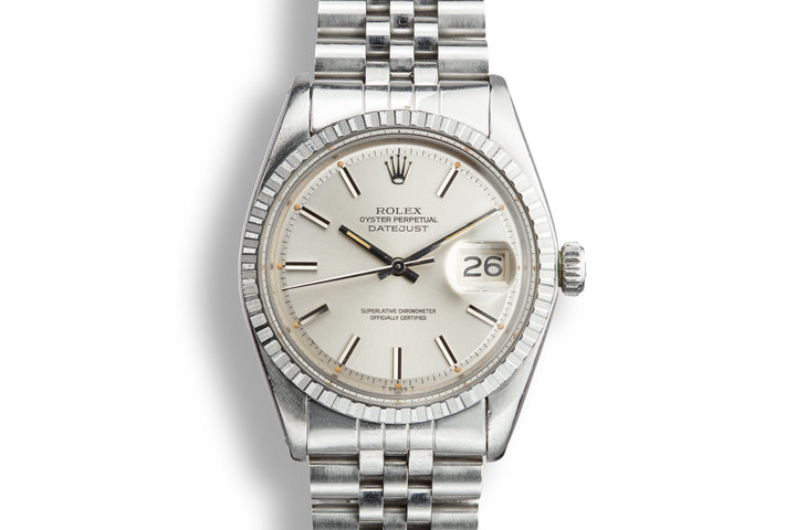 1971 Rolex DateJust 1603 Silver Dial with Papers photo