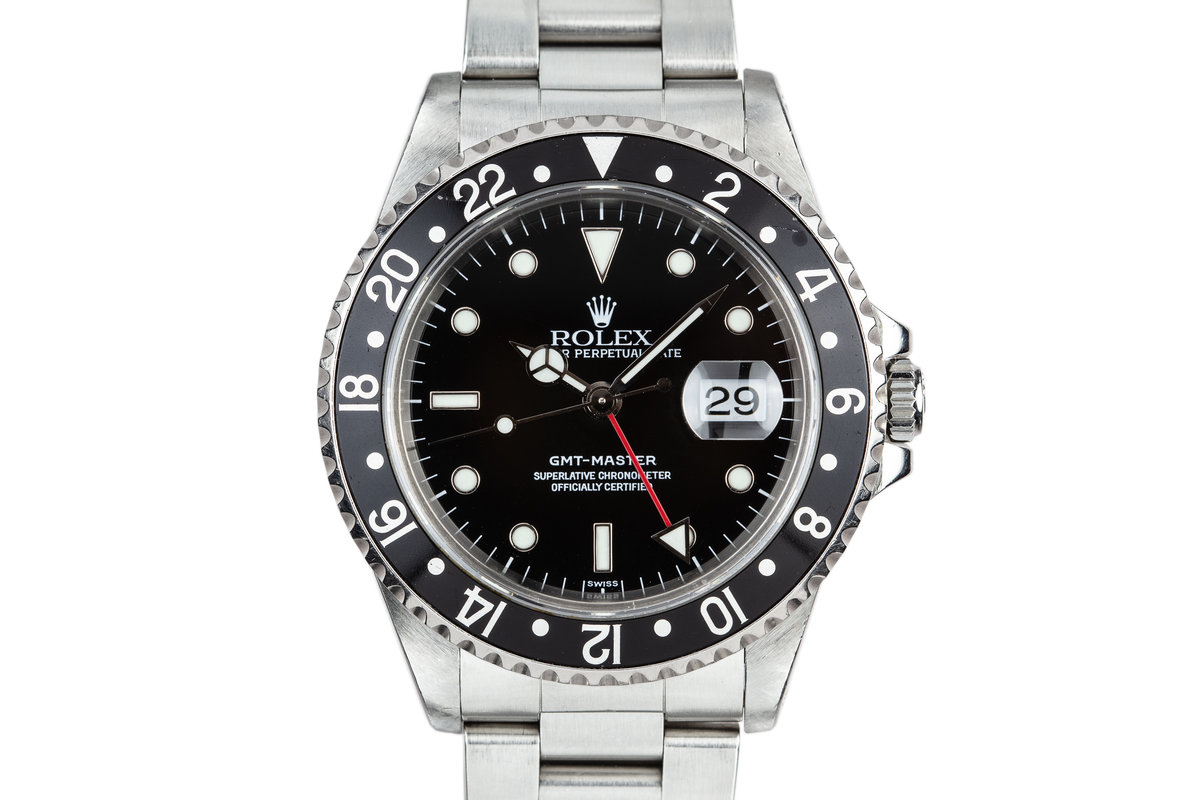 1999 Rolex GMT-Master 16700 SWISS Only with Box and Papers photo, #0