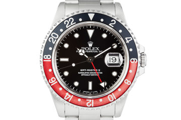 1993 Rolex GMT II 16710 with Faded Coke Insert photo