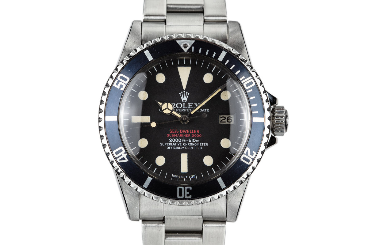 1978 Rolex Double Red Sea-Dweller 1665 with MK IV Dial photo, #0