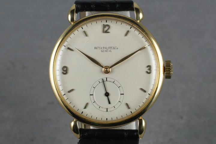 Patek Philippe Vintage Pre-Reference with Service Papers photo