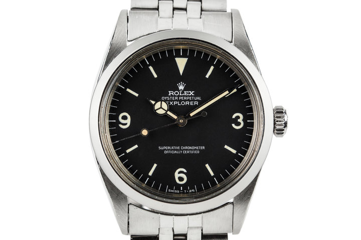 1967 Rolex Explorer 1 1016 with Papers photo