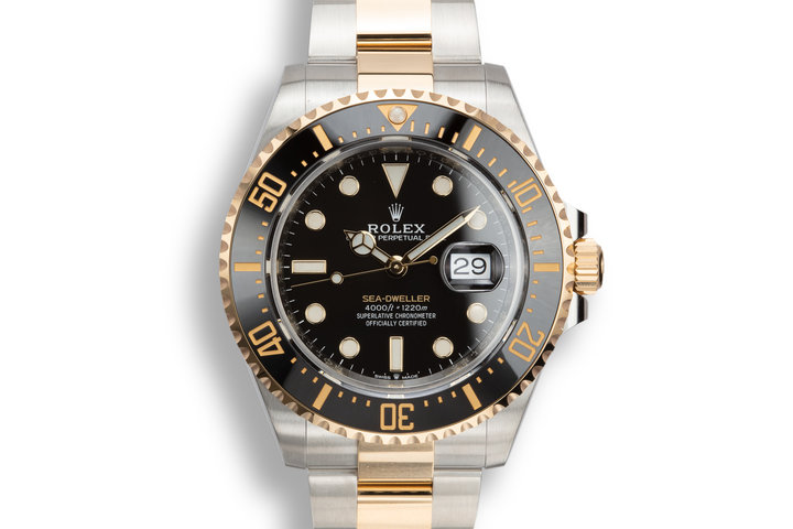 2019 Rolex Two-Tone Sea-Dweller 126603 with Box and Papers photo