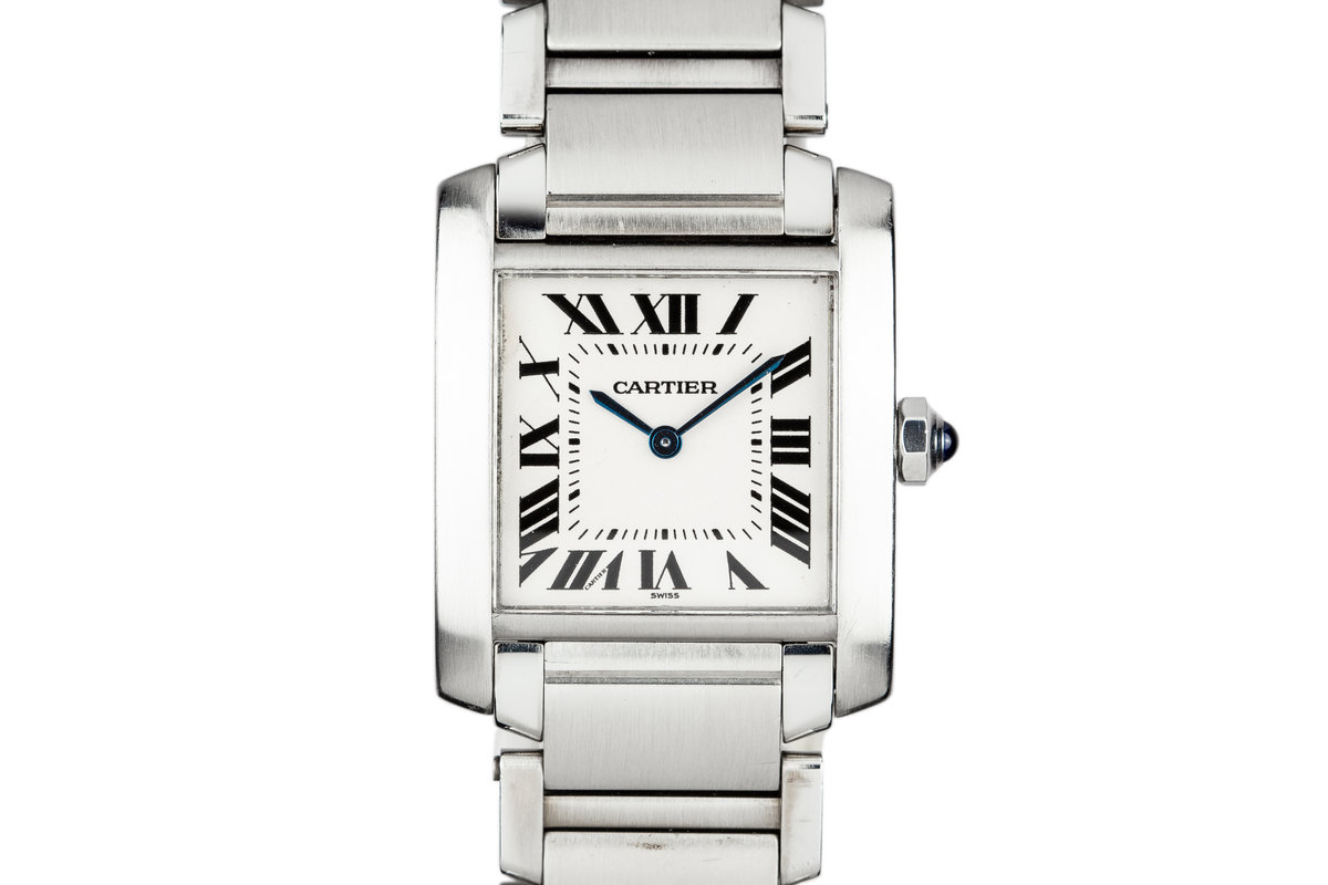Cartier Midsize Tank 2301 White Dial photo, #0
